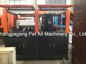 Semi-automático máquina de soplado de botellas de 9 cavidades para la fabricación de plástico pueden