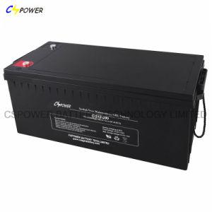 Cspower Gel de sellado de la batería La batería de ciclo profundo 12V 200Ah