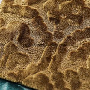 Color oro tejido Jacuqard todo el tejido de punto de venta