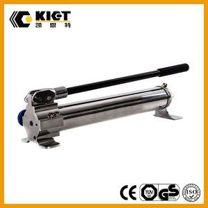 La pompa a mano idraulica ultra ad alta pressione ha abbinato con i cilindri idraulici