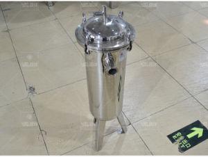 De het verticale Water van het Type van Zak van het Roestvrij staal van het Voedsel/Filter van het Sap