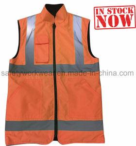 Реверсивный Hi в отношении обеспечения безопасности запасов Workwork Майка мужчин (Светоотражающая)
