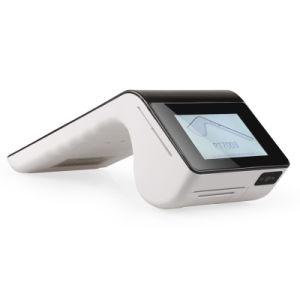 PT7003 double écran tactile du terminal système POS Android 5.1 avec poignée Imprimante scanner et lecteur de carte
