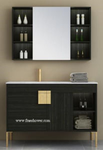 Nouveau design moderne libre Salle de bains 48 pouces de la vanité permanent