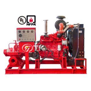 Nppa 20 UL FM el extremo del motor Diesel de división de succión de la carcasa turbina Vertical de la bomba de agua contra incendios