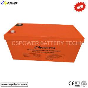 12V200ah太陽のための深いサイクルAGM電池、UPSの電気通信、インバーター
