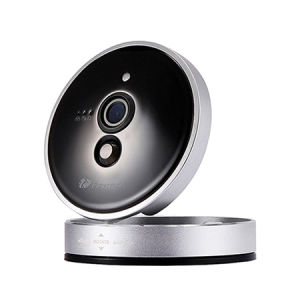 Baby-Monitor, Homtrol WiFi drahtlose 720p HD IP-Kamera-Fernhauptkindermädchen-Nocken Pets Monitor-Sicherheit mit das 2 Möglichkeits-Video-Nachtsicht