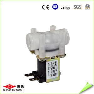 Válvula de agua de la electroválvula de bajo precio en el sistema de agua RO