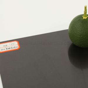 N° 4 de titanio negro Anti-Fingerprint Hoja de acero inoxidable