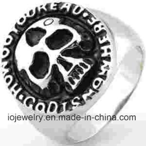 De Juwelen van de Ring van de Schedel van het Roestvrij staal van de Juwelen van de manier