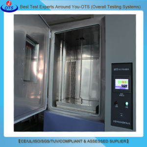 実験装置のハイ・ロー温度の熱衝撃の衝撃試験機械