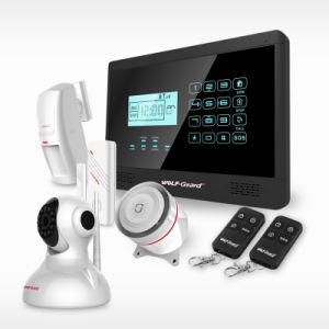 Нажмите кнопку Клавиатура Android и IOS управляется приложения Smart GSM дома сигнал тревоги