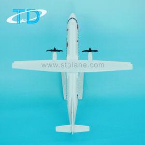 Ewa Atr72-500 27cm modelo promocional de plástico ABS de avião