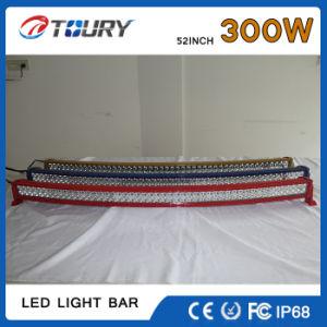 Auto-Peças 52polegadas Barra de luz LED de caminhão de Linha Dupla Iluminação de condução automóvel 300000lm 300W