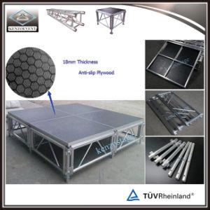 Bewegliches bewegliches Aluminiumstadiums-hölzerne Plattform für Ereignis
