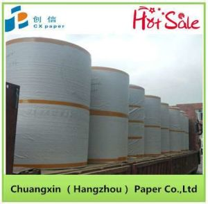 Chuangxin géant recouvert de tissu de carte de la Carte Blanche du rabatteur robe du papier de chemise