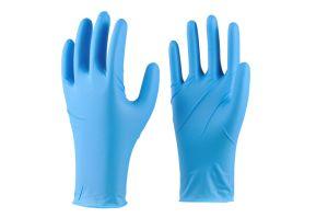 Gants jetables en nitrile sans latex résistant aux huiles résistant aux acides et alcalins des gants de protection antidérapant pour le travail domestique des gants de plastique alimentaire