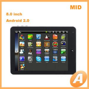M007 8.0 schermo ultrasottile del ridurre in pani del Android 2.0 di Google di pollice metà di & lettore del E-libro