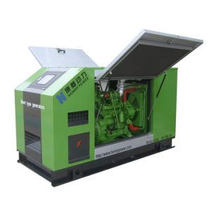 Compacto silencioso generador diésel Cummins 30kVA de 24kw