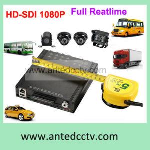 HD-SDI DVR caméra 1080P de l'automobile pour les véhicules des bus système de surveillance vidéo CCTV mobile
