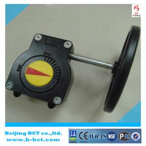 Válvula de liga de alumínio da engrenagem da caixa cor prata Bct-Agv Worm-05