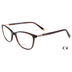 Klaar Acetaat de Recentste Frames van Glazen voor Meisjes Optische Eyewear