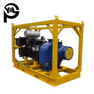 Motor diesel de 10 pulgadas de la bomba de cebado automático para el riego