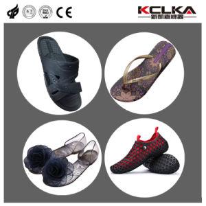 Пвх вращающийся Crystal тапочки сандалии машины литьевого формования