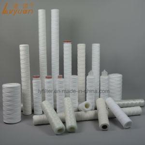 Elemento do filtro de sedimentos PP fiado refil do filtro