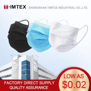 Оптовая торговля Timtex нетканого материала Non-Woven 3ply защитные одноразовые пыли на лице 3 Ply маску для лица