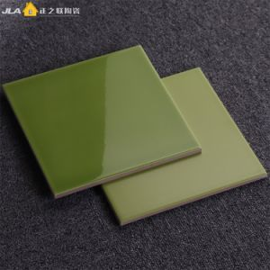 De geelachtige Groene Tegel van het Schuim van de Muur van de Prijs van de Tegel van het Terracotta van 8X8inch/20X20cm Decoratieve