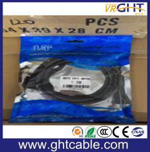 Hochgeschwindigkeits-DVI zur DVI Kabel Belüftung-Umhüllung
