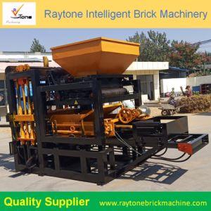 O Qt4-18 e robusto Pavimentadora Oco Automática Inteligente máquina para fazer blocos de tijolos de concreto