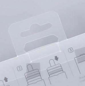 中国の工場カスタムスクリーンPrinting/UVの印刷のプラスチック包装ボックス