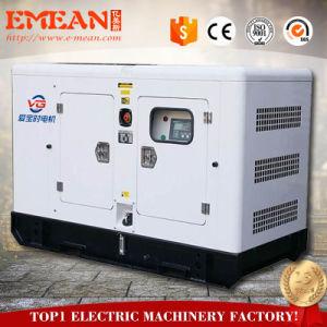 Горячие продажи или Бесшумный тип большой бак дизельного генератора, 15квт 18.75ква домашнего использования