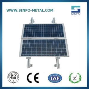 Алюминиевый корпус солнечной монтажные кронштейны для крепления на крыше системы