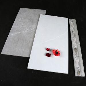 Het grijze Marmer poetste Verglaasde Porselein & Ceramiektegel voor Muur en Vloer op
