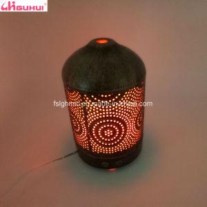 difusor de aroma de ultrasonidos de vapor frío portátil con cubierta de metal
