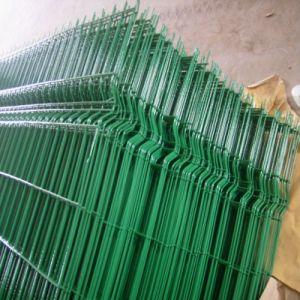 O PVC revestido de compensação de cerca de 3D