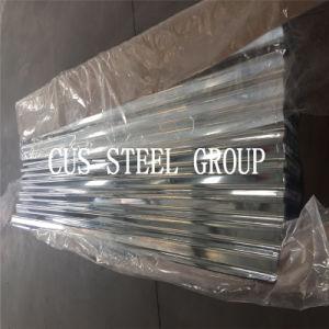 La boxe Toiture en acier galvanisé recouvert de zinc Zinc/la plaque de tôle de toit ondulé