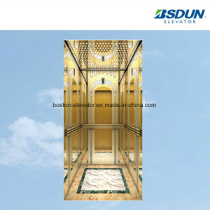 Квадратные панорамный лифт, для осмотра достопримечательностей и элеватора со стороны пассажира