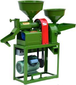 コンバインの小さい米のフライス盤の米もみすり機