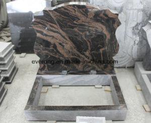 De natuurlijke Grafsteen van de Begraafplaats van de Zwarte/van het Huisdier van het Monument van de Steen van het Graniet Aurora/G654/Grey Begrafenis Ernstige
