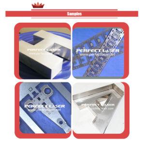 LED de aluminio Canal Ad Carta soldadora láser de fibra óptica