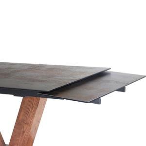 Vidrio cerámico de extensión de la mesa de comedor para Restaurante