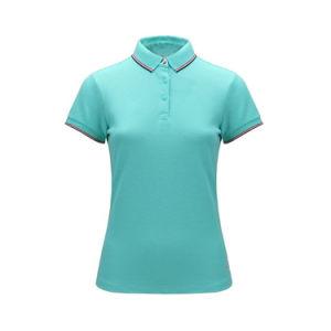 주문 주문을 받아서 만들어진 옷 또는 의류 평야 또는 줄무늬 인쇄한 자수 의복 인쇄하거나 또는 의복 100%년 면 불쾌 또는 저어지 복장 남자의 골프 폴로 t-셔츠