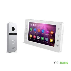 HDのメモリ通話装置ビデオドアの電話インターホン7インチのホームセキュリティーの