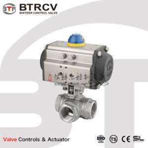 Btrcv ISO 5211 압축 공기를 넣은 액추에이터