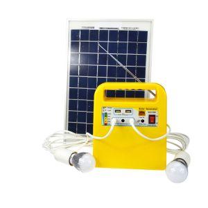 La protección de descarga de Kits solares domésticos sistema India Pakistán Dubai África