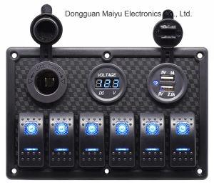 Pista 6 Panel de interruptores de Barcos Alquiler